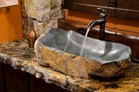 Rustic Bathroom Ideas - sink with faucet rustic bathroom ideas rustic bathroom sink