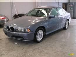 2002 bmw 5 series 530i 2002 blue water metallic bmw 5 series 530i sedan 8704910