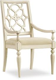 Extraordinary Chair Upholstery Hooker Furniture Dining Room Sandcastle Fretback Arm Chair