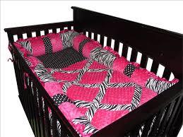 Pink Zebra Crib Bedding Baby Boutique Pink Zebra 14 Pcs Crib Bedding Set Incl