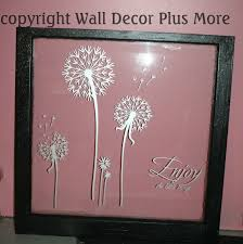 using old windows with wall decals in home decor wall decor plus dandelion silver decals on window glass