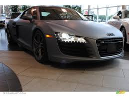 Audi R8 Matte Black - 2009 matte grey audi r8 4 2 fsi quattro 75925089 gtcarlot com
