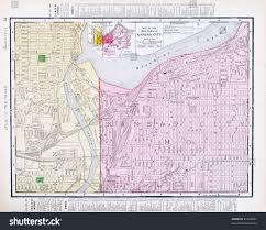 Map Of Ks Map Kansas City Kansas Kansas City Stock Photo 91804682 Shutterstock