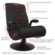 Surround Sound Gaming Chair For Sale X Rocker Pro Advanced Ultra Gaming Chair Avforums