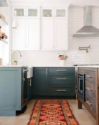 two tone kitchen cabinets with black countertops 15 two tone kitchen cabinet combos you ll want to try