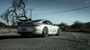 porsche carrera back boden porsche 911 carrera s back view wallpaper car wallpapers