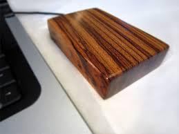 wooden external drives