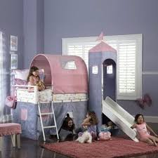 Princess Bunk Bed With Slide Powell Loft Bed Princess Castle Size Tent Bunk Bed With Slide
