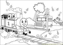 thomas friends coloring printable kids fun