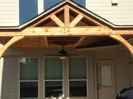 cedar patio cover poorguywoodcraft