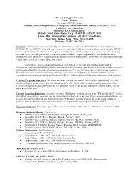 Insurgent Resume Michael Tuggle 2016 Resume Word Format Only