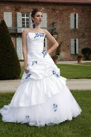 robe de mari e bleue robe mariee bleu et blanche site de vente robe de mariée adventech