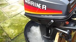 mariner 8hp outboard 2 stroke youtube