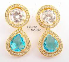 fancy earing fancy earing cz earring manufacturer from jaipur