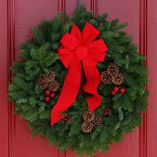 Outdoor Christmas Decor Philippines by 50 Christmas Door Decoration Ideas Pink Lover