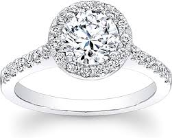 engagement rings round images Round pave halo diamond engagement ring scs1307b png