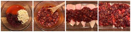 easy weeknight meal cranberry baked chicken with hannaford