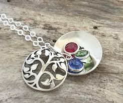 grandmother birthstone necklace grandmothers birthstone necklace family tree birthstone necklace
