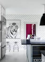 wall tiles for kitchen ideas 20 black and white kitchen design decor ideas