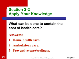 The Mcgraw Hill Companies Worksheet Answers History Chapter 2 Health Care Systems Ppt