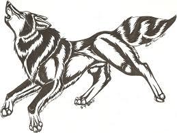 howling wolf tattoo by saltypuppy on deviantart