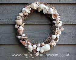 seashell wreath seashell wreath