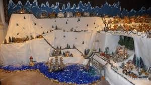 christmas villages weldon woman goes all out with christmas display st