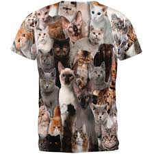 t shirt australian shepherd crazy cat all over t shirt walmart com