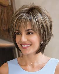 Short Bob Hairstyles For Thin Hair Layered With Full Bangs With Fine Hair Hair Pinterest Full
