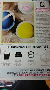 Cleaning Patio Furniture by Best 25 Plastic Patio Furniture Ideas On Pinterest Plastic