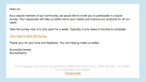 Thank You For Taking The Time To Review My Resume Send Your Survey Via Email Surveygizmo Help