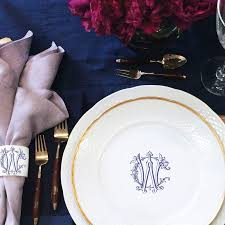 monogrammed dishes 43 best place settings images on wedding