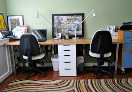 Ikea Reception Desk Hack Desk Small Office Computer Desk Ikea Home Office Desks Two