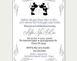 where to register for a bridal shower disney bridal shower etsy