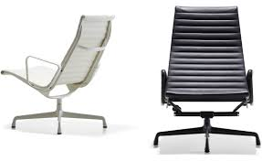 eames aluminum group lounge chair hivemodern com