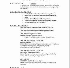 Example Resume For Cashier by Sample Cashier Resume Head Cashier Resume Example Example Of