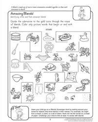 blends worksheets for first grade worksheets