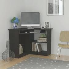 Ikea Corner Desk With Hutch Desk Micke Computer Work Station Black Brown White Ikea A White