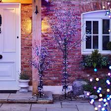 56 function indoor outdoor all seasons pre lit tree page 1 qvc uk