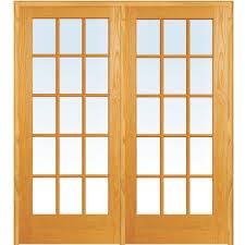mmi door 62 in x 81 75 in classic clear true divided 15 lite