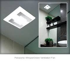 Panasonic Bathroom Exhaust Fans With Light And Heater Cool Bathroom Exhaust Fan With Light Ductless Bathroom Exhaust Fan