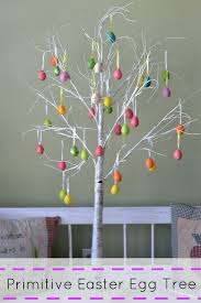 primitive easter eggs primitive white branch easter egg tree decorative idea savvy