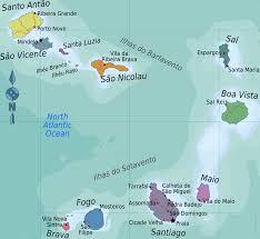 cape verde map world cape verde islands cruise ship schedule cruisemapper