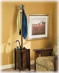 free standing coat rack from repurposing a column just