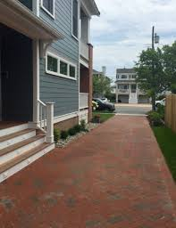 herringbone rumbled main street paver driveway pine hall brick inc