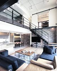 indoor design interior living room apartment modern with long
