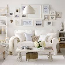 White Living Room Ideas Ideal Home - Living room with white sofa