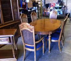 thomasville dining room set includes hutch table chairs and