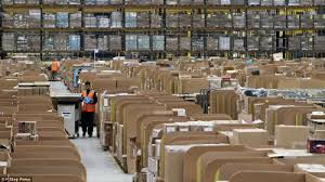 amazon black friday japan unbelievable black friday work landscape of amazon huge warehouse