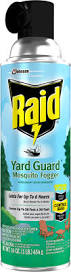 raid yard guard mosquito fogger products raid brand sc johnson